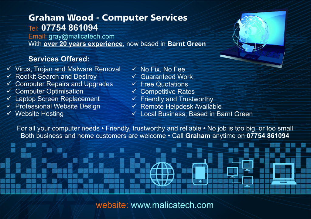 Graham Wood - Computer Services